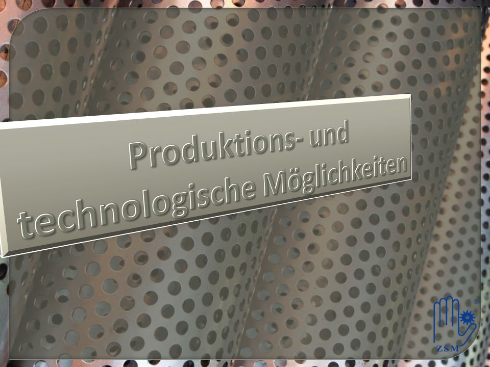 Produktions- und technologische Möglichkeiten