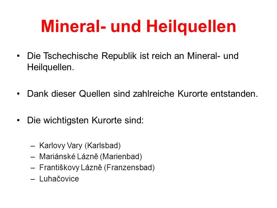 Mineral- und Heilquellen
