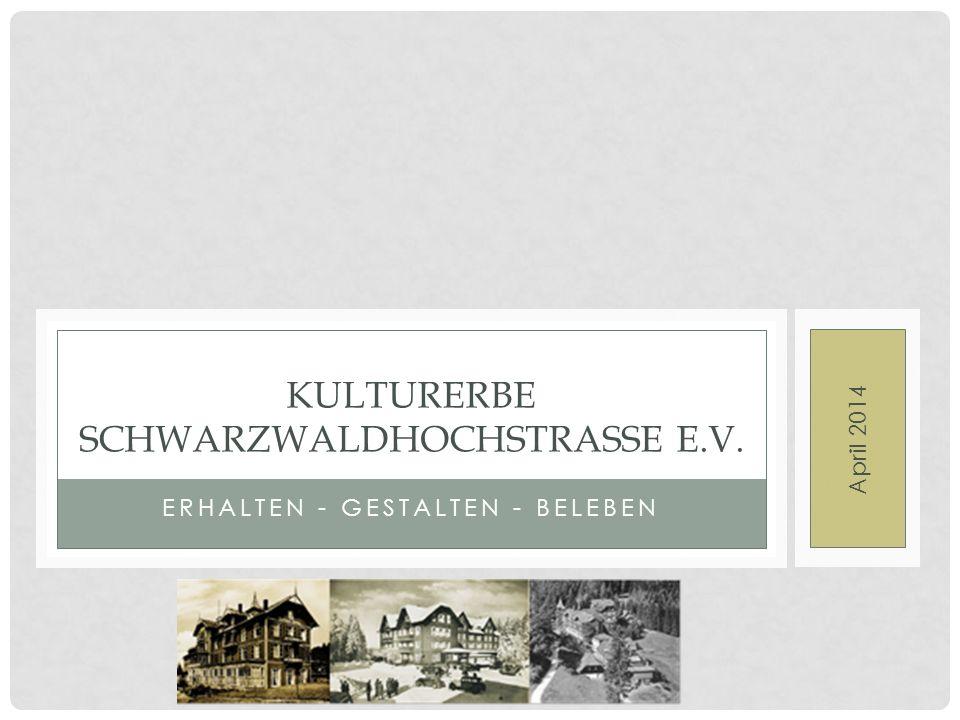 Kulturerbe Schwarzwaldhochstrasse E.V.