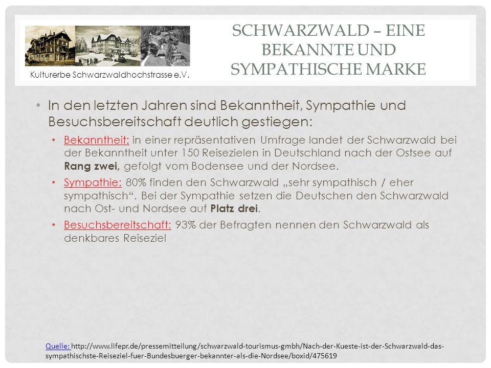 Schwarzwald – eine bekannte und sympathische Marke