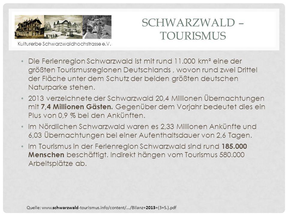 Schwarzwald – Tourismus