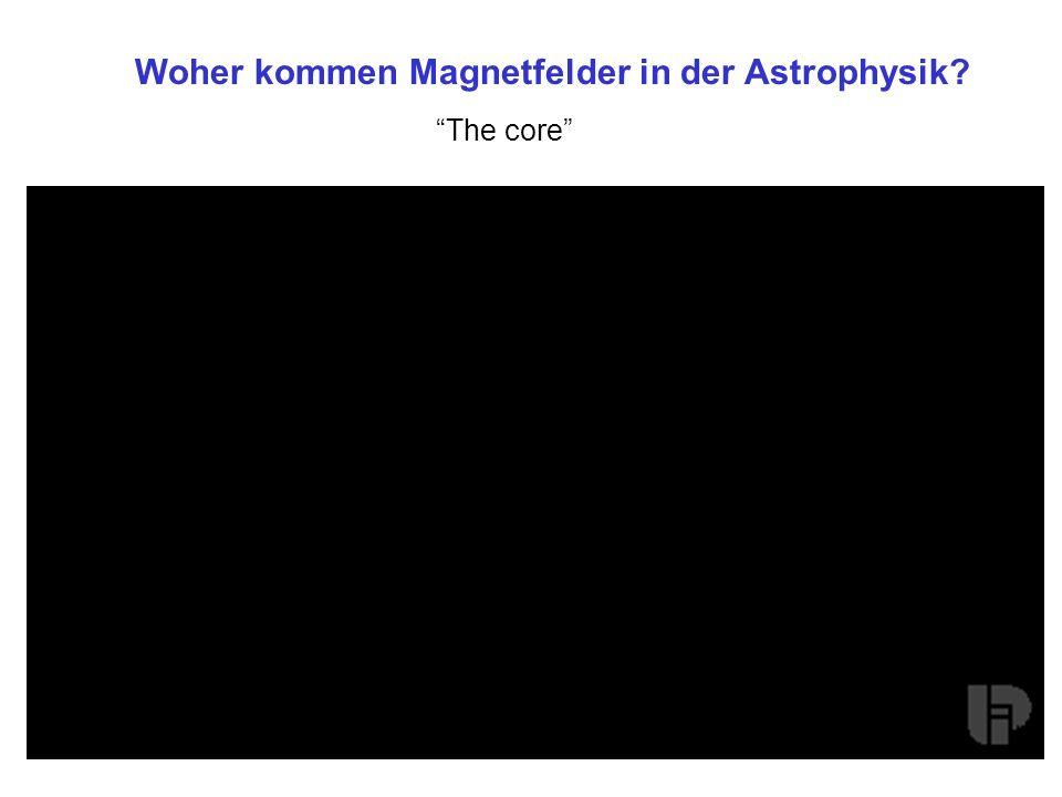 Woher kommen Magnetfelder in der Astrophysik
