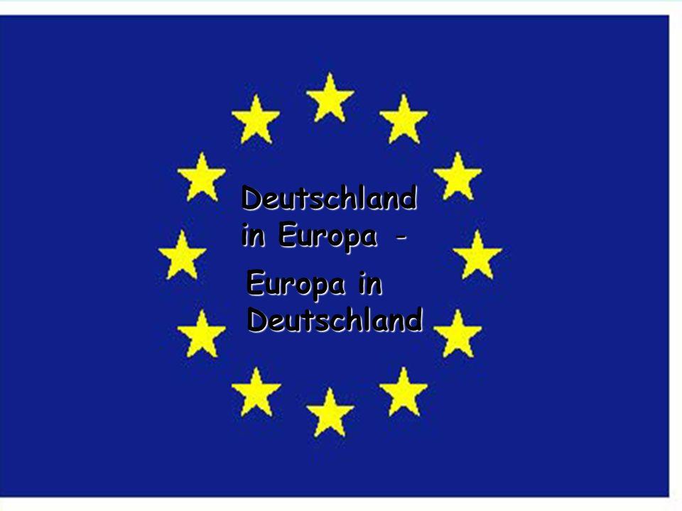 Deutschland in Europa -