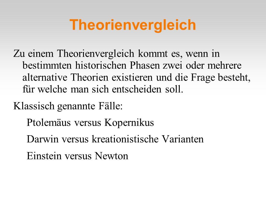 Theorienvergleich