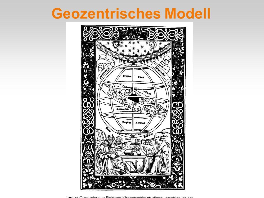 Geozentrisches Modell