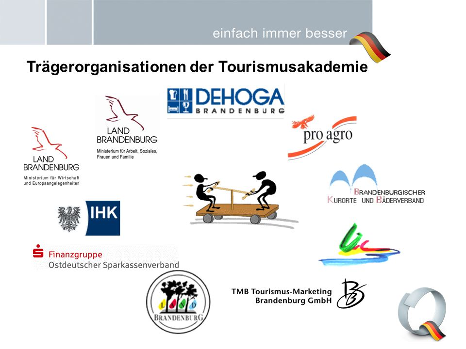 Trägerorganisationen der Tourismusakademie