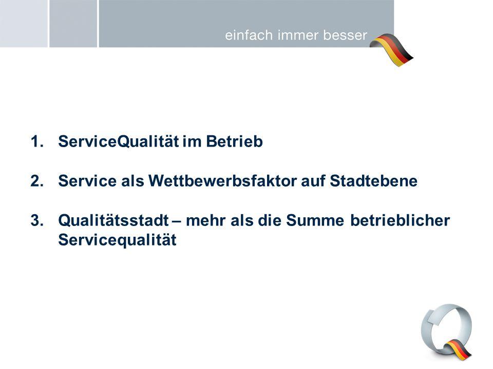 ServiceQualität im Betrieb