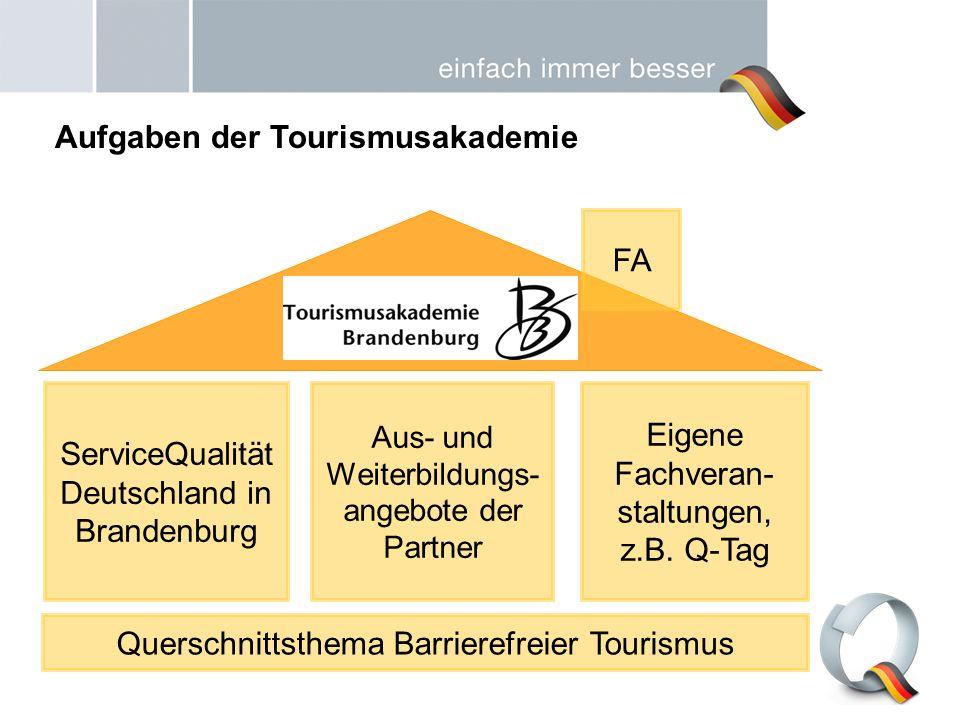 Aufgaben der Tourismusakademie