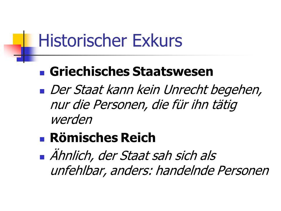 Historischer Exkurs Griechisches Staatswesen