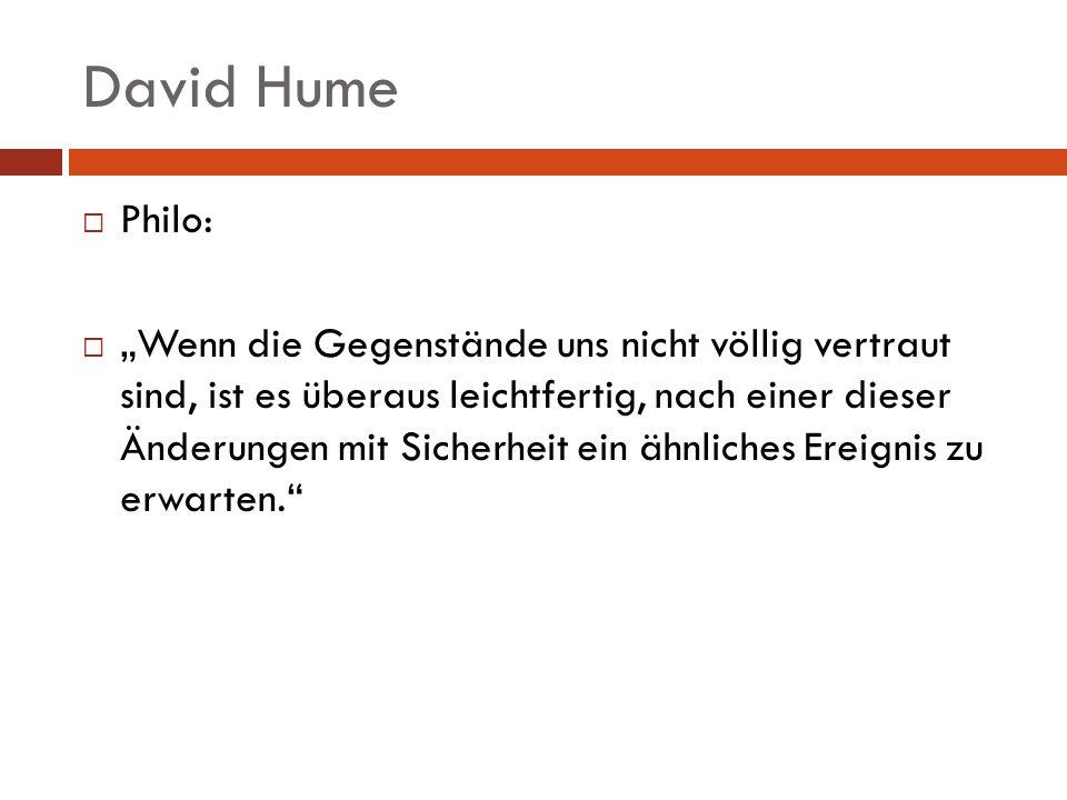 David Hume Philo: