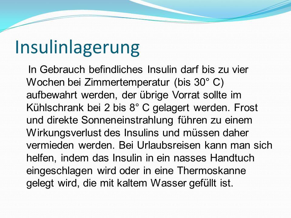 Insulinlagerung
