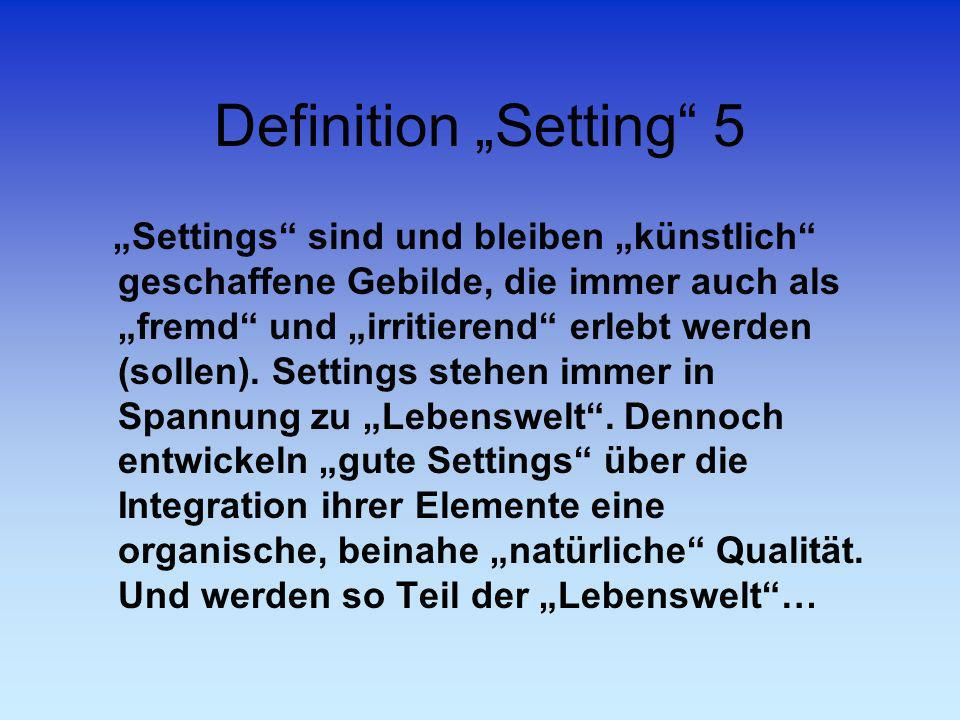 "Definition ""Setting 5"