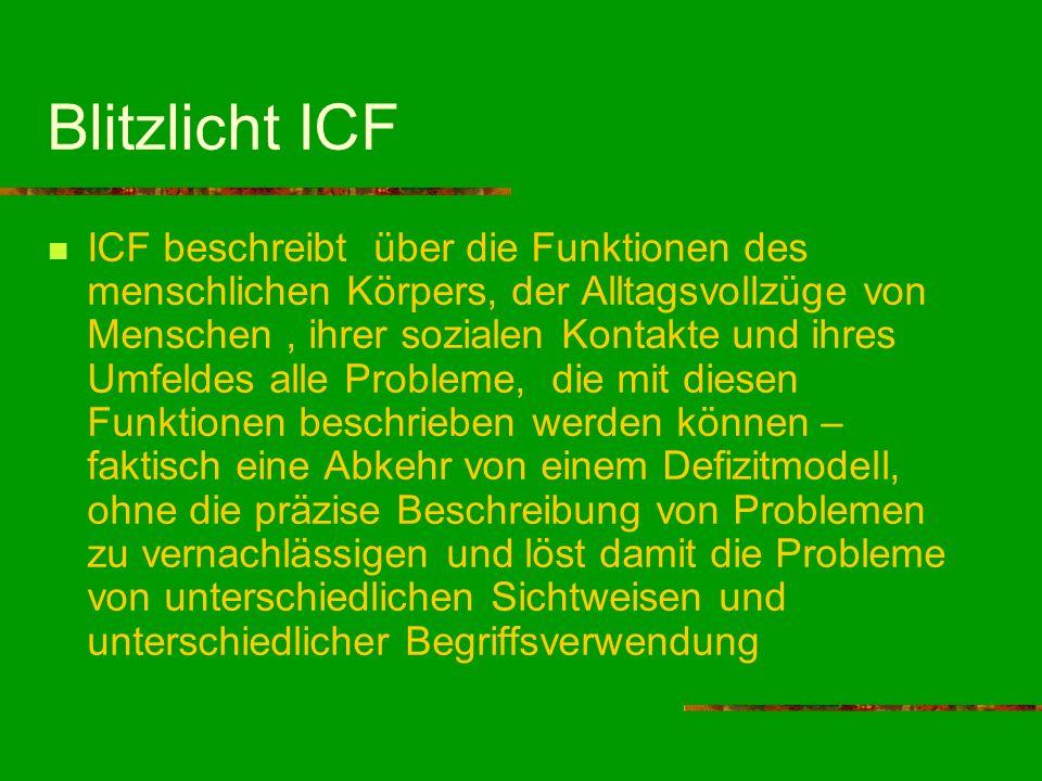Blitzlicht ICF