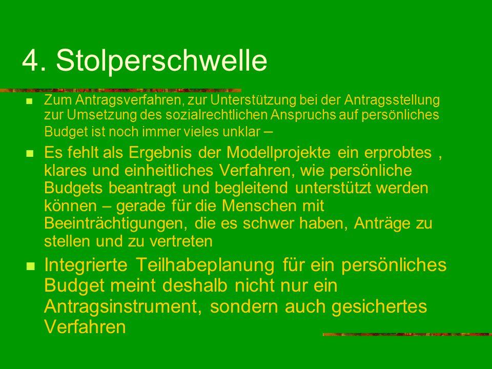 4. Stolperschwelle