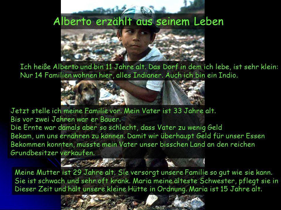 Alberto erzählt aus seinem Leben
