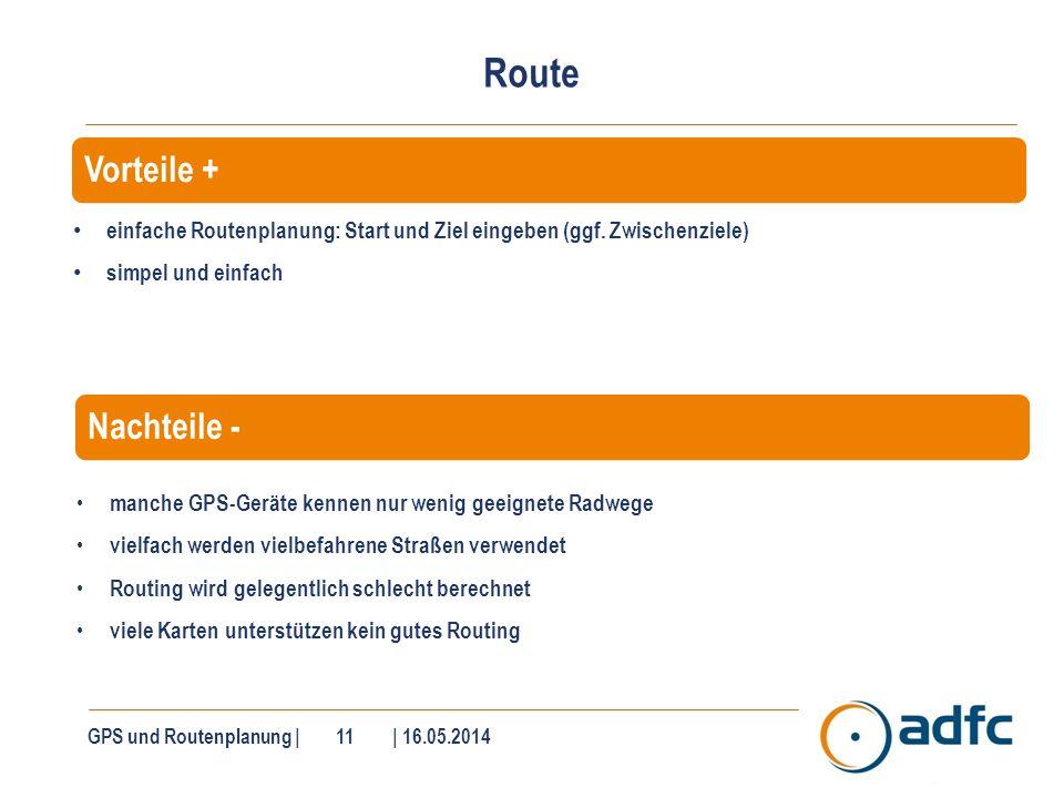 Routenplanung am PC Zahlreiche Software unterstützt Sie am PC an der Routenplanung.