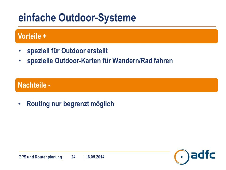 Garmin Outdoor-Systeme