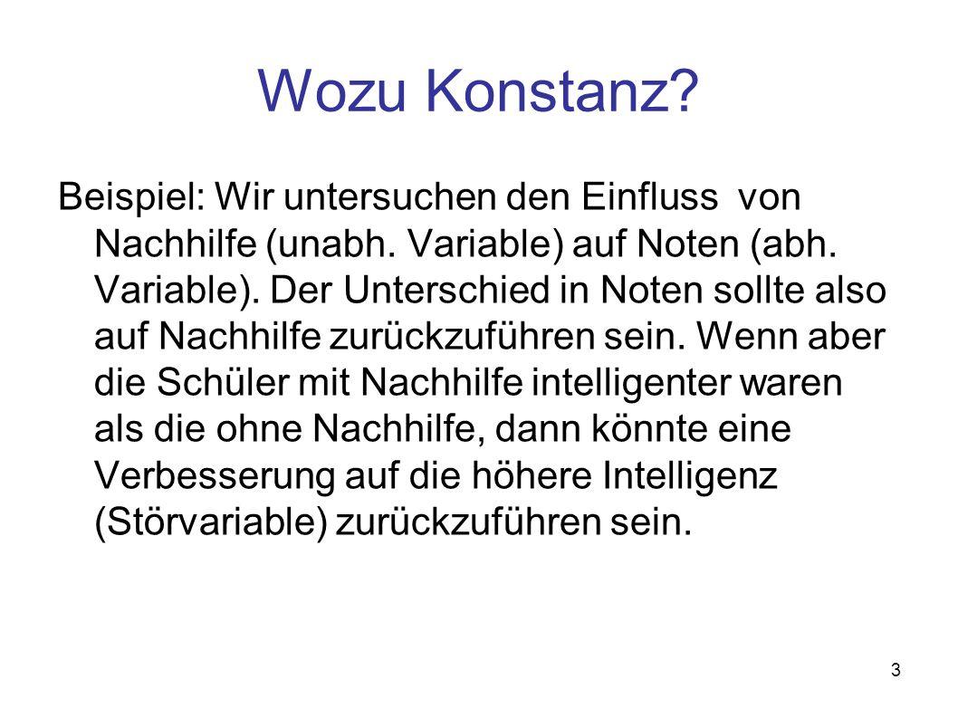 Wozu Konstanz