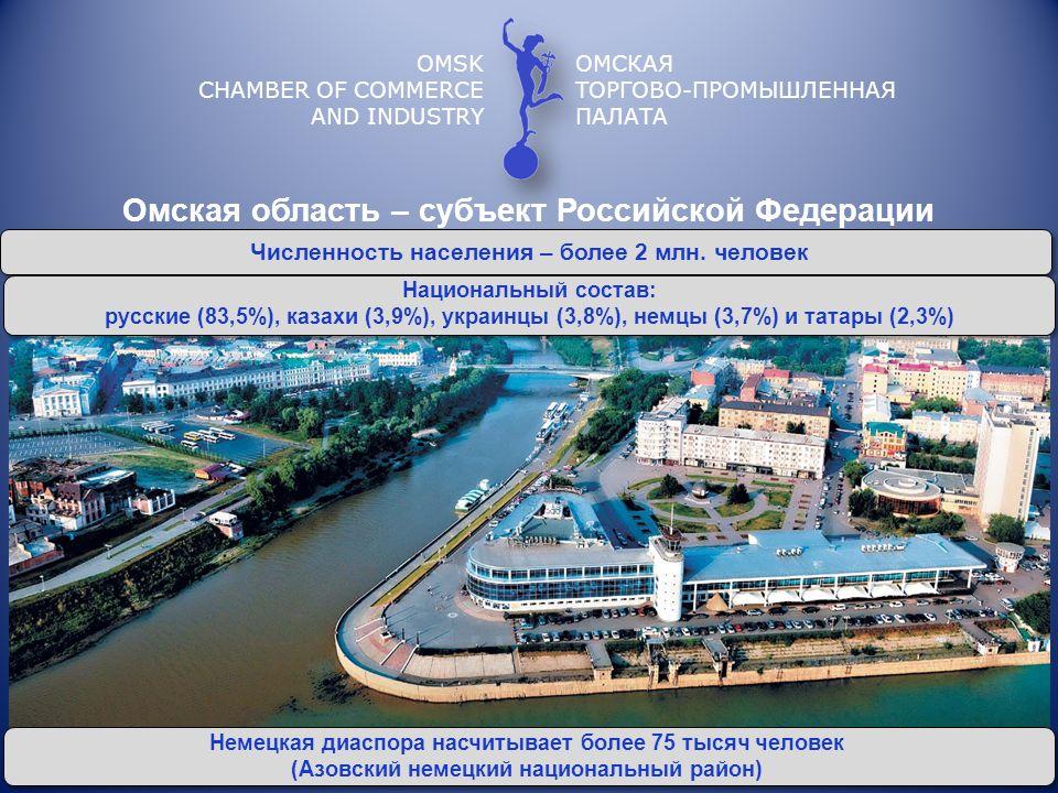Омская область – субъект Российской Федерации