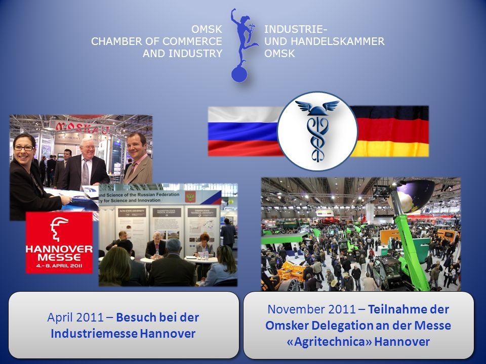 April 2011 – Besuch bei der Industriemesse Hannover