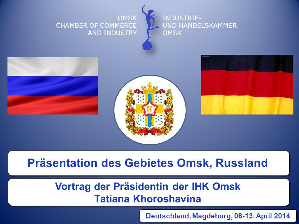 Präsentation des Gebietes Omsk, Russland