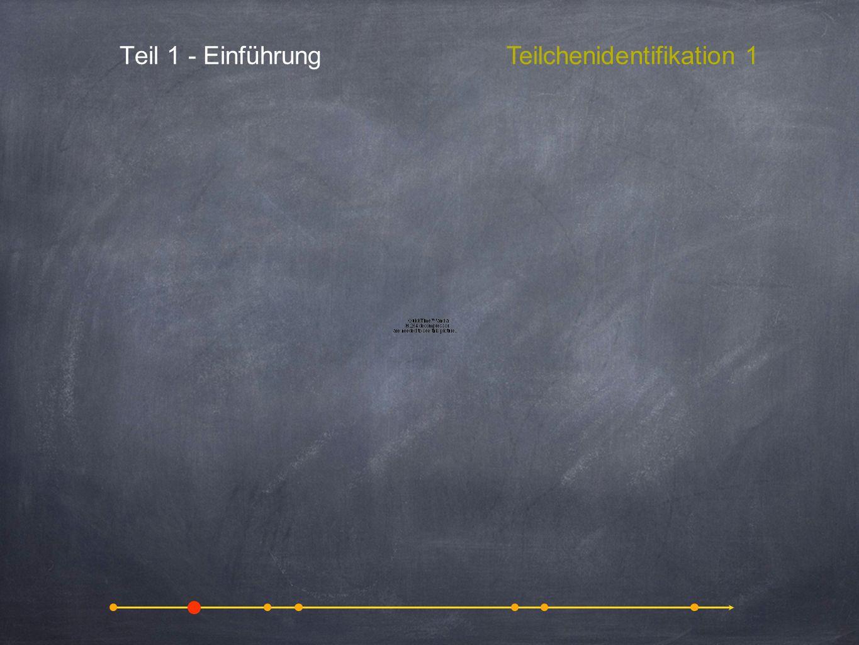 Teilchenidentifikation 1