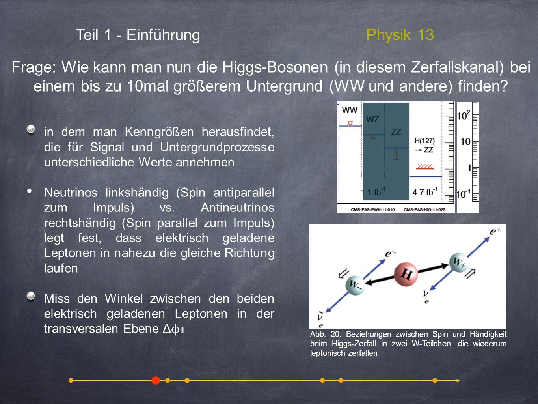Teil 1 - Einführung Physik 13
