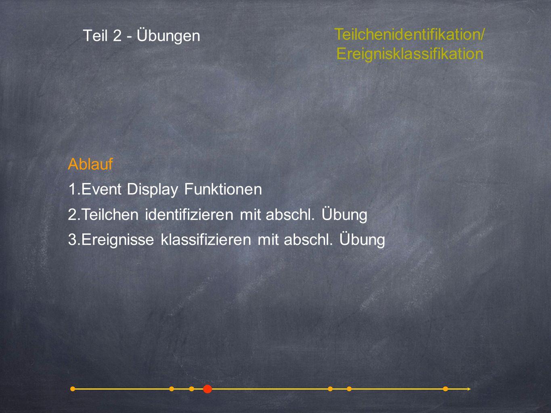 Teilchenidentifikation/ Ereignisklassifikation