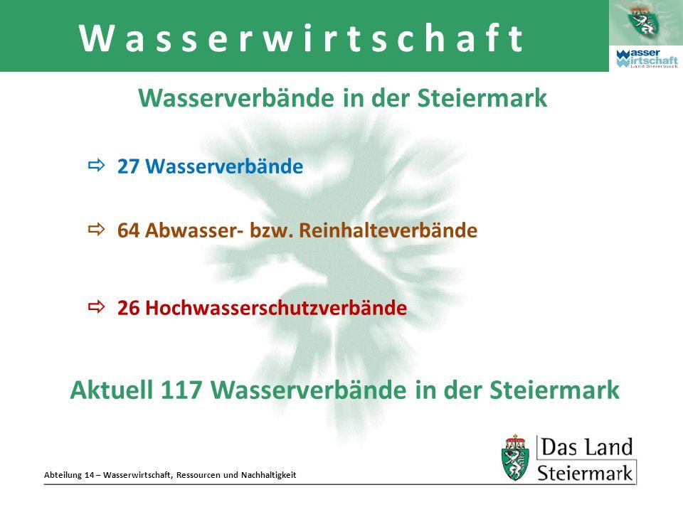 Wasserverbände in der Steiermark