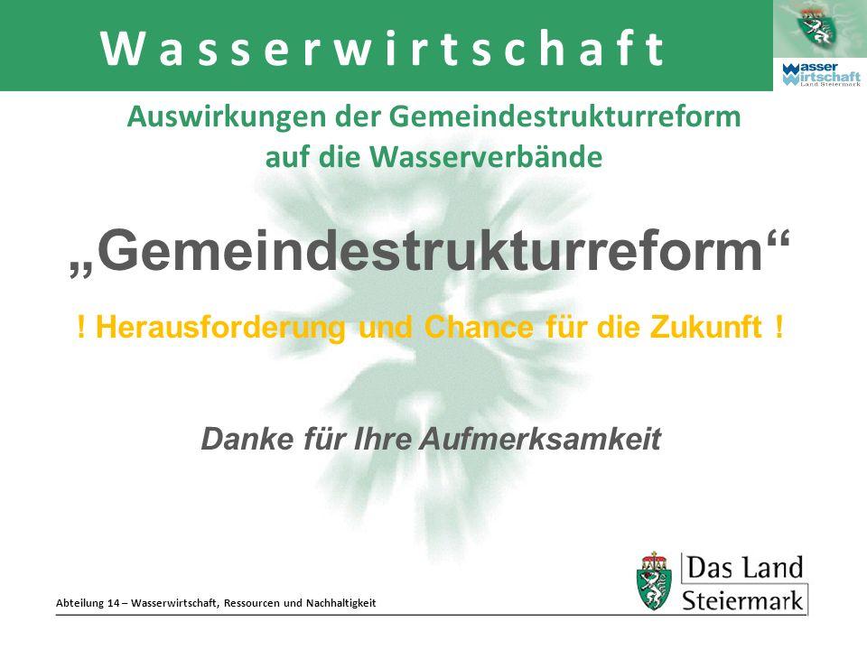"""""""Gemeindestrukturreform"""