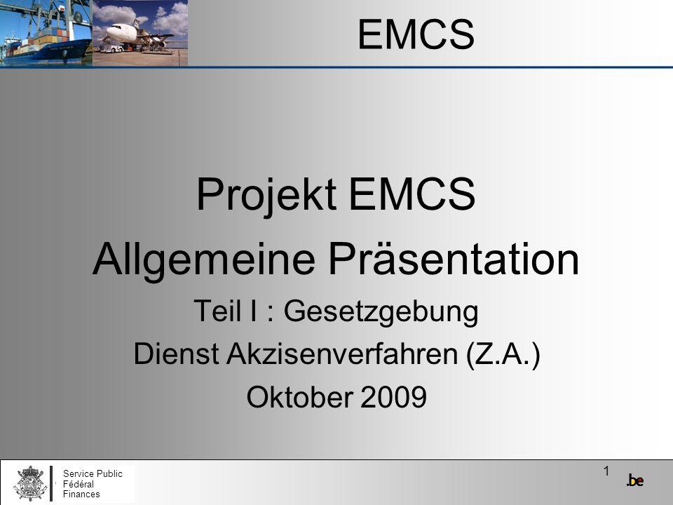 Allgemeine Präsentation