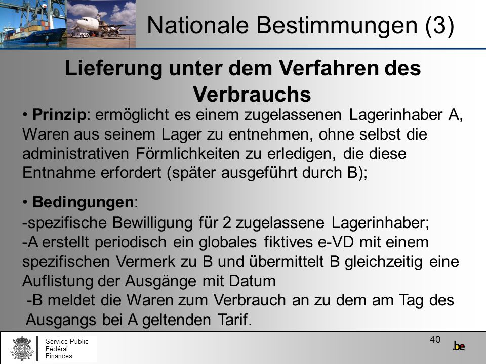 Nationale Bestimmungen (3)