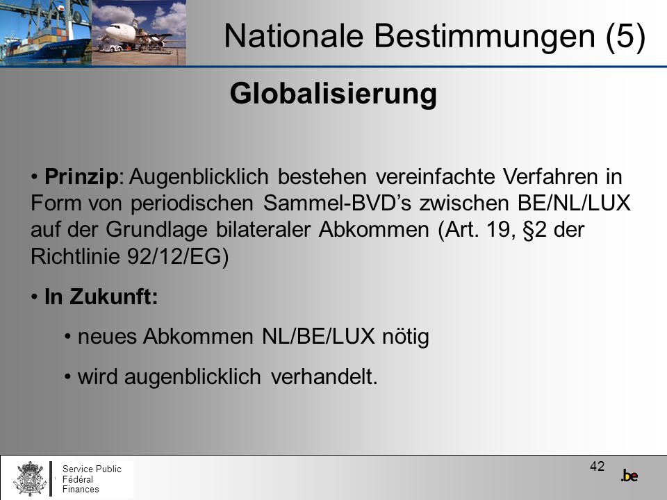 Nationale Bestimmungen (5)