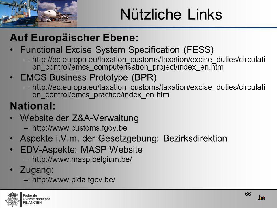 Nützliche Links Auf Europäischer Ebene: National: