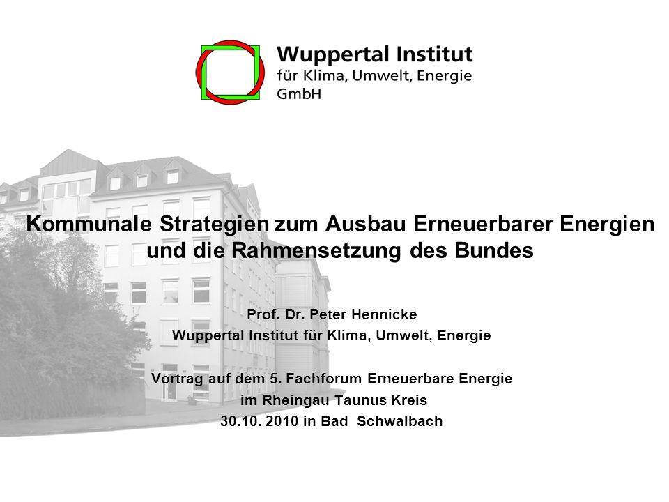 Wuppertal institut fur klima umwelt energie gmbh
