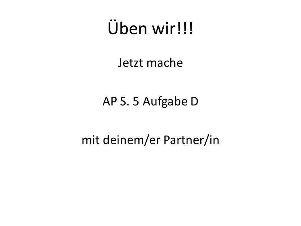 mit deinem/er Partner/in