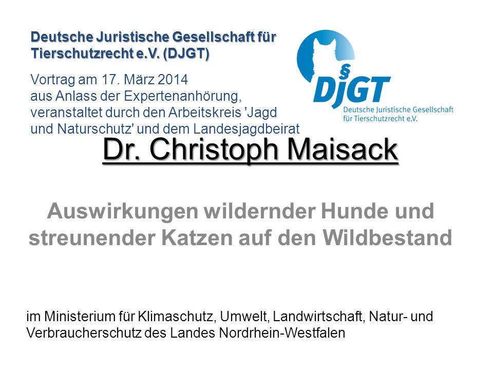 Deutsche Juristische Gesellschaft für Tierschutzrecht e.V. (DJGT)