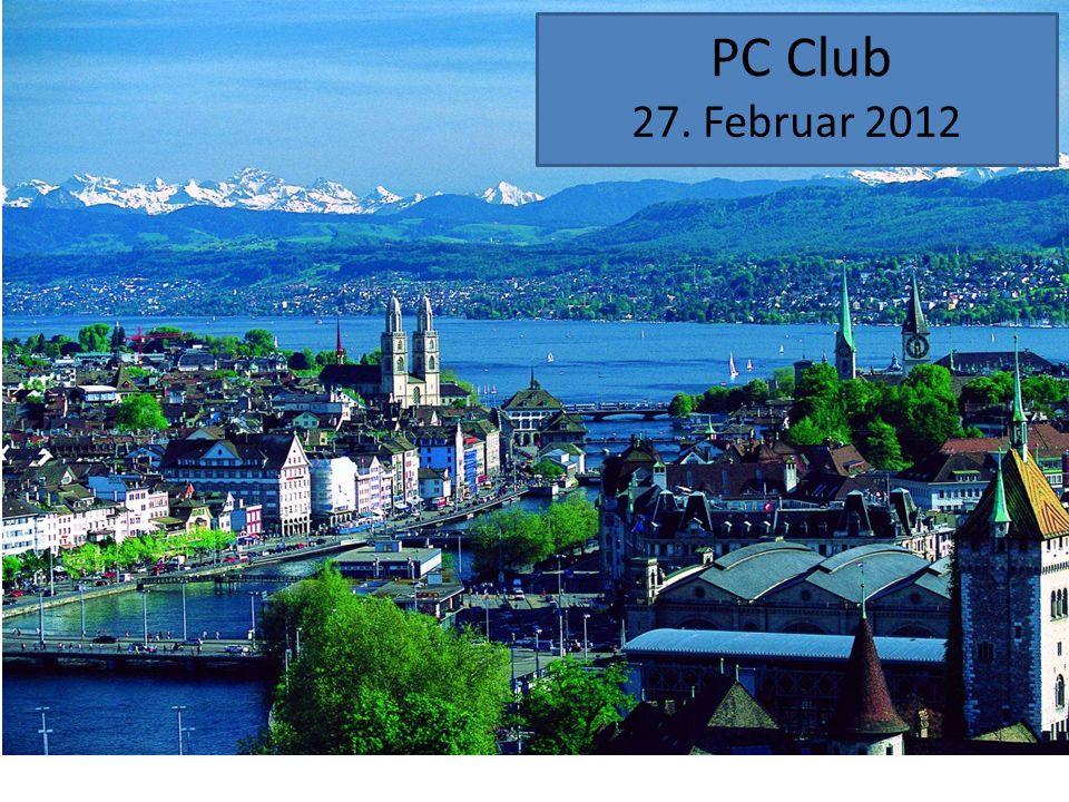 PC Club 27. Februar 2012