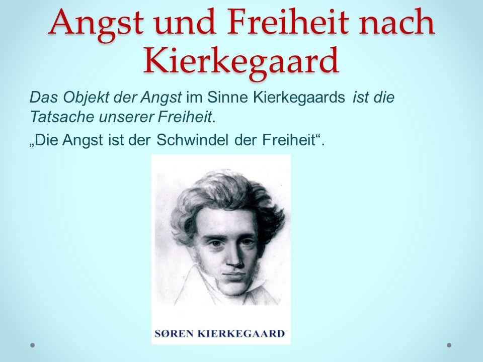 Angst und Freiheit nach Kierkegaard