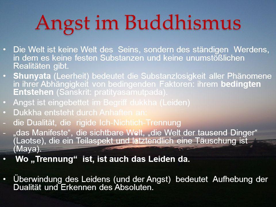 Angst im Buddhismus