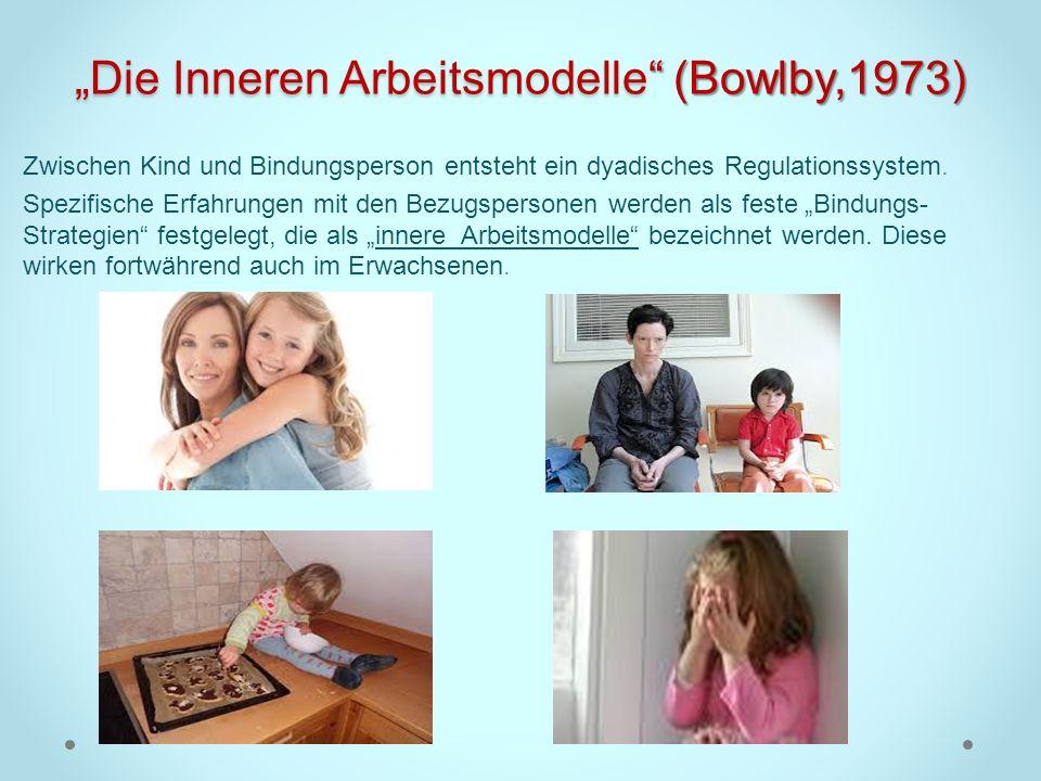"""""""Die Inneren Arbeitsmodelle (Bowlby,1973)"""