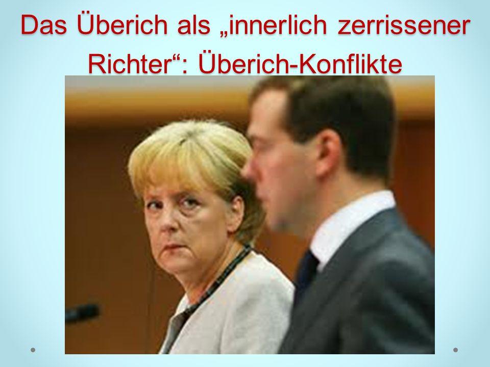 """Das Überich als """"innerlich zerrissener Richter : Überich-Konflikte"""