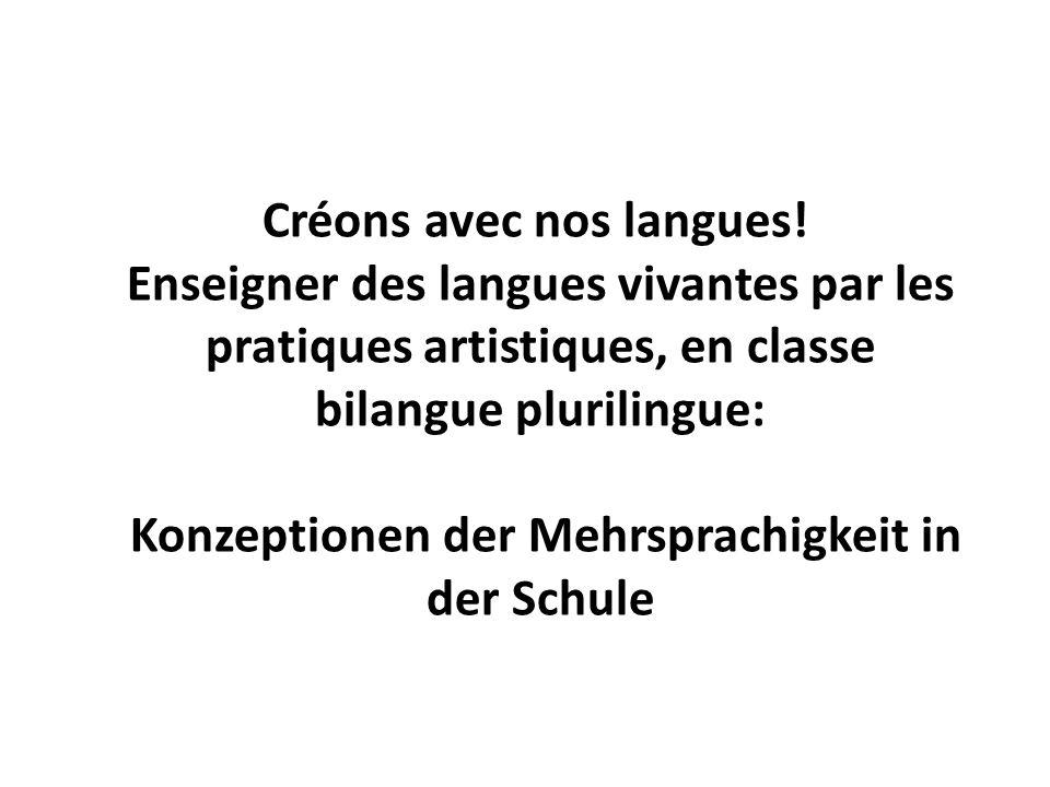 Créons avec nos langues