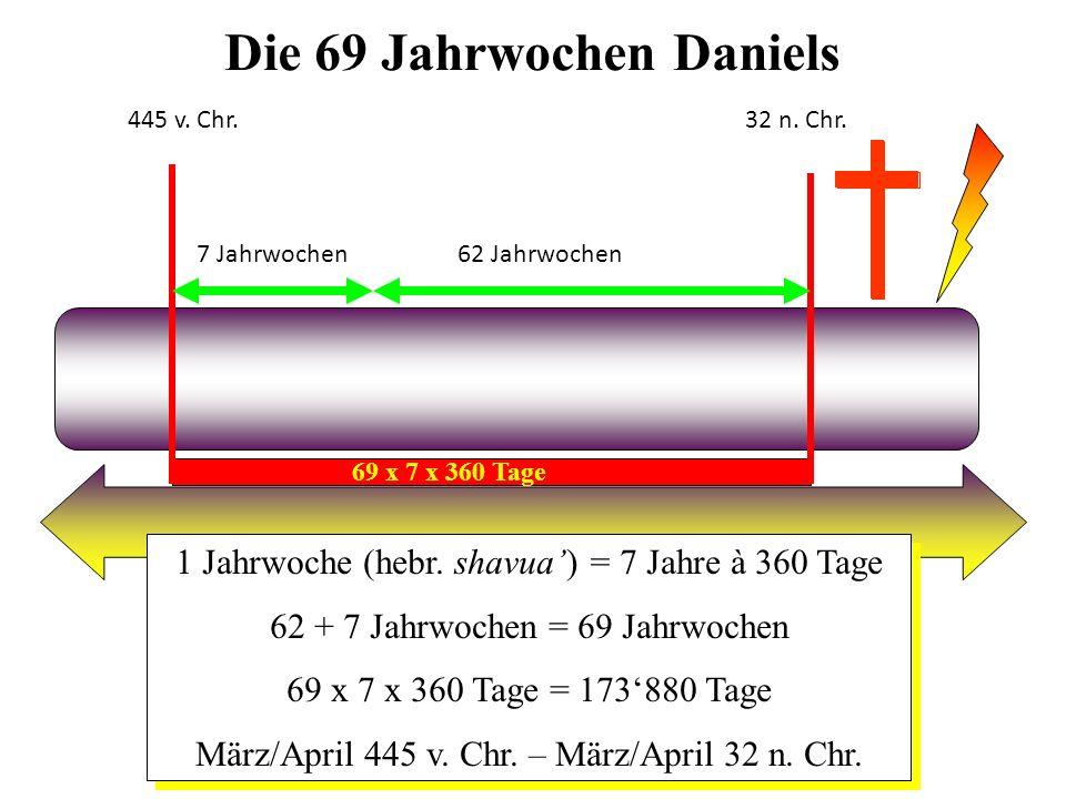 Die 69 Jahrwochen Daniels