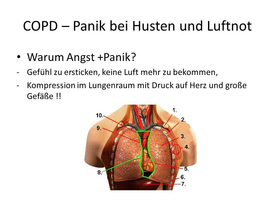 COPD – Panik bei Husten und Luftnot