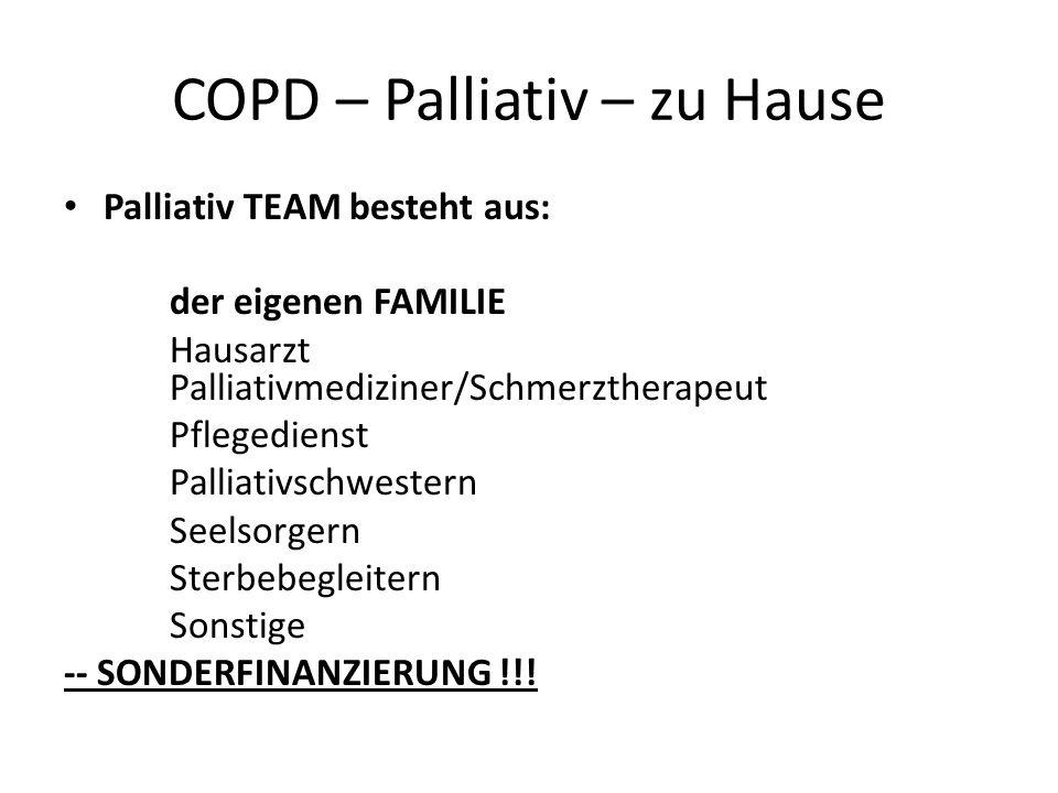 COPD – Palliativ – zu Hause