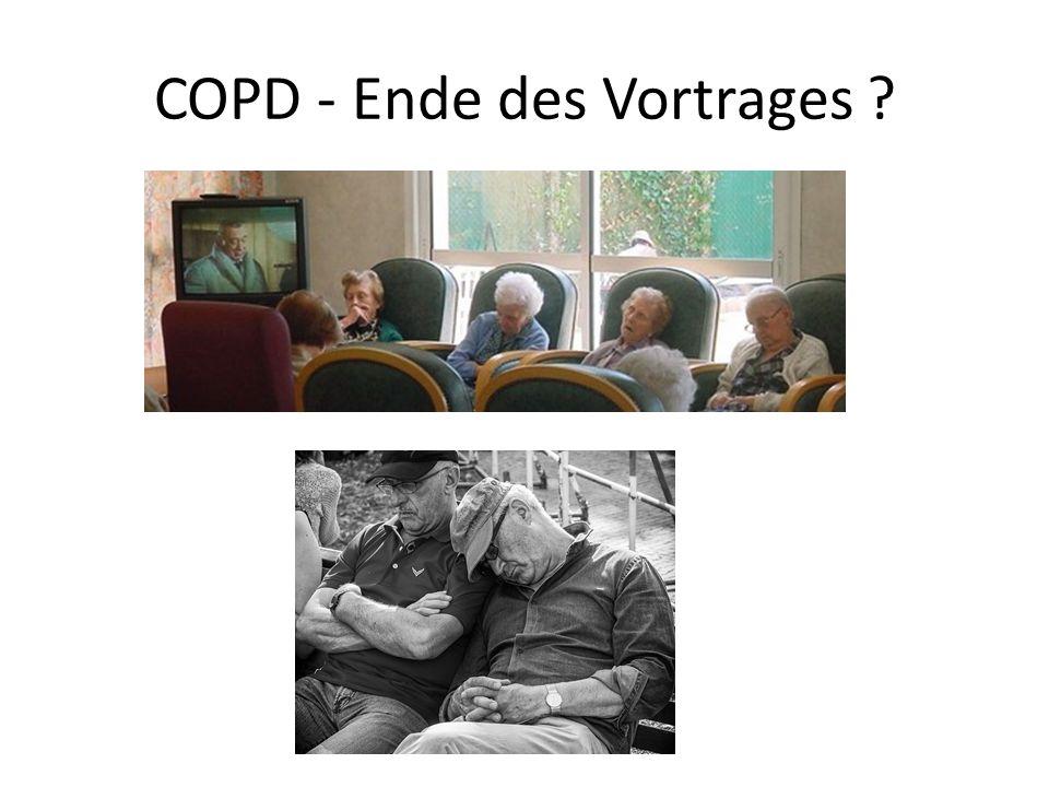 COPD - Ende des Vortrages