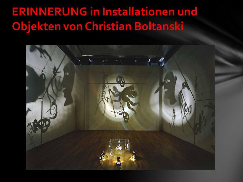 ERINNERUNG in Installationen und Objekten von Christian Boltanski