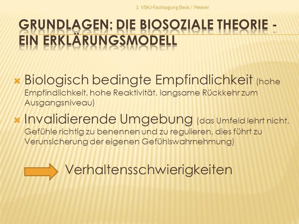 Grundlagen: Die biosoziale Theorie - ein Erklärungsmodell