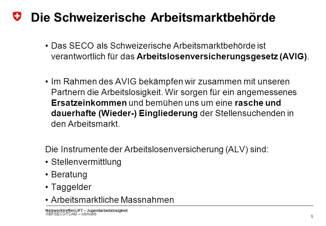 Die Schweizerische Arbeitsmarktbehörde